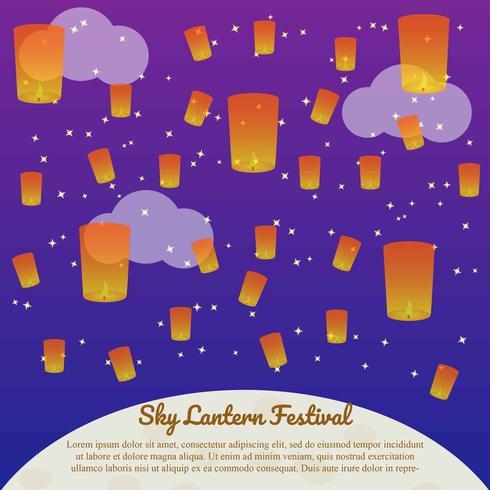 festival de linterna del cielo