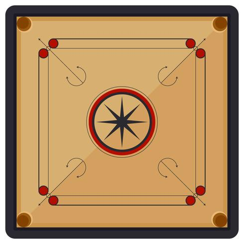 Iconic Carrom Vectors