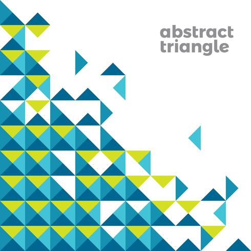 Abstract Triangle Simple Background vector