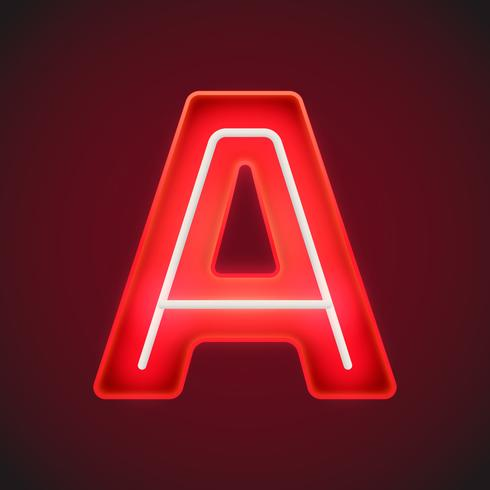 Letter A Custom Typography