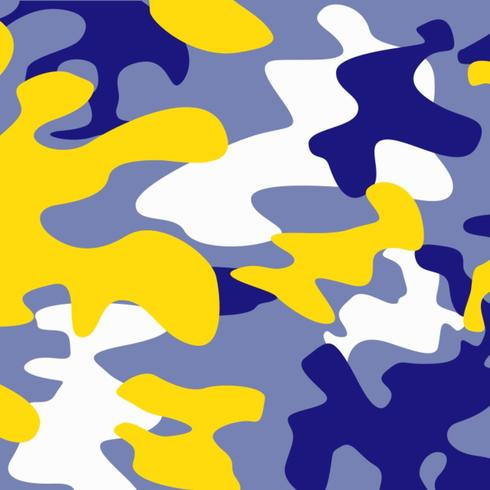 Couverture Camo Blue Gold