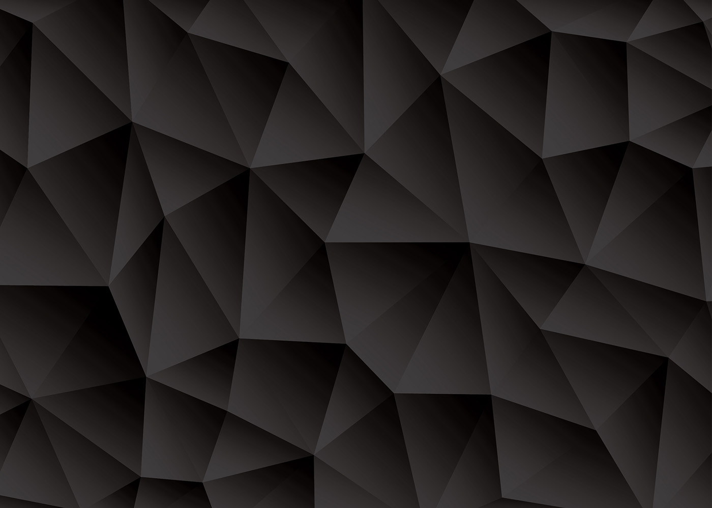 Triangle abstract black background vector download free - Black abstract background ...