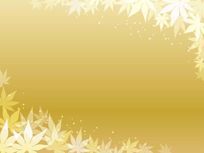 Quadro de folha de bordo de ouro.