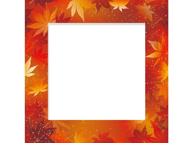 Fundo de outono sem costura.