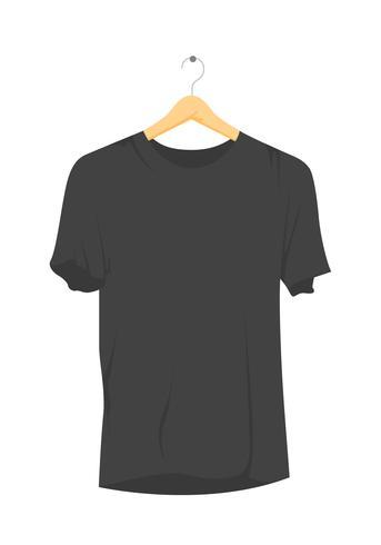 modelo em branco do t-shirt em branco 3