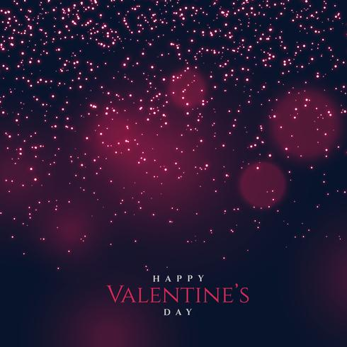 bokeh background with shiny glitters and sparkles for valentine'