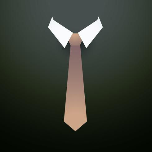 tie with collar background