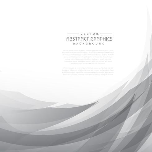 abstrakter grauer wellenförmiger Hintergrund
