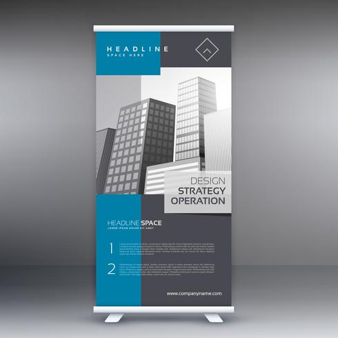 professional modern roll up banner presentation template