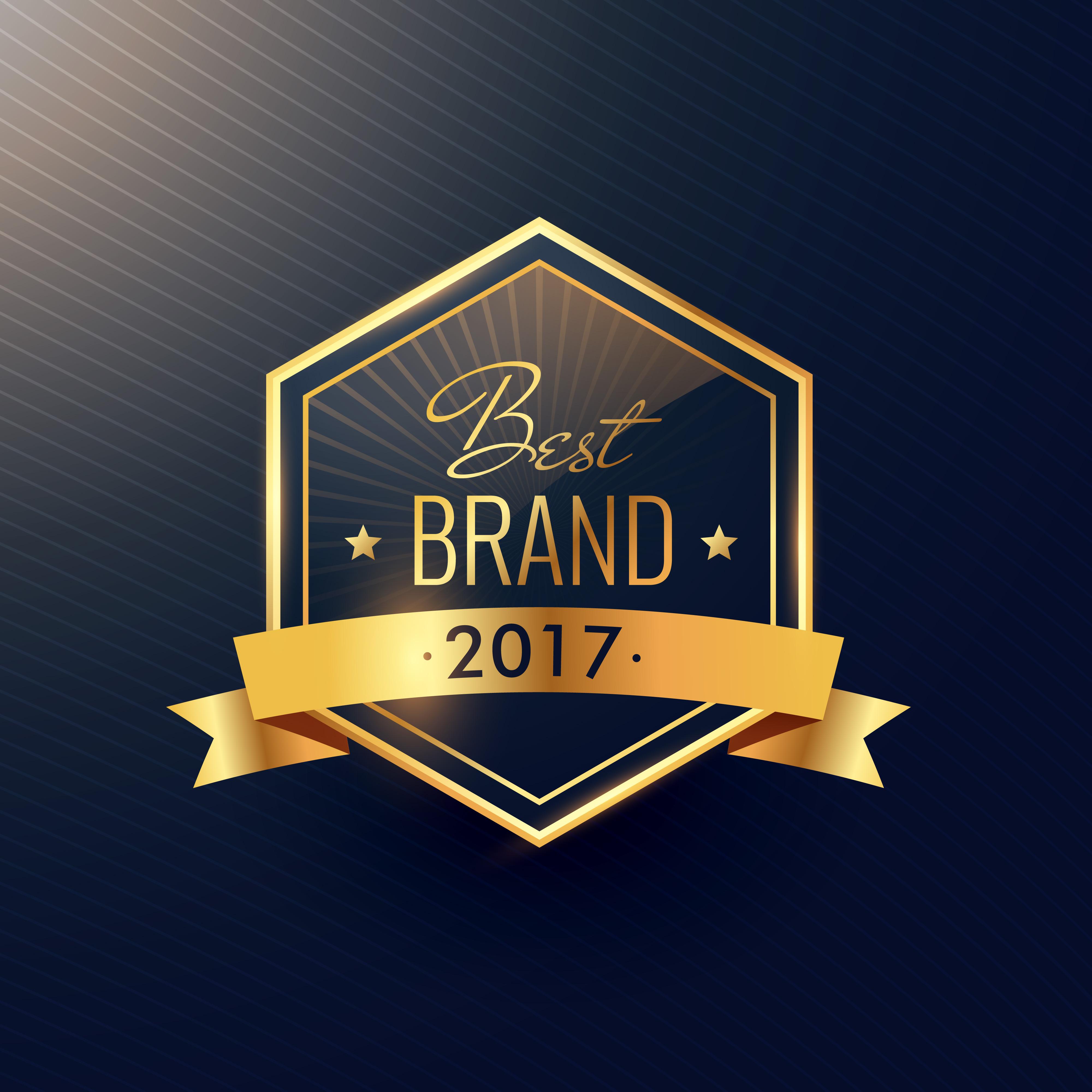best brand of 2017 golden label design - Download Free ...