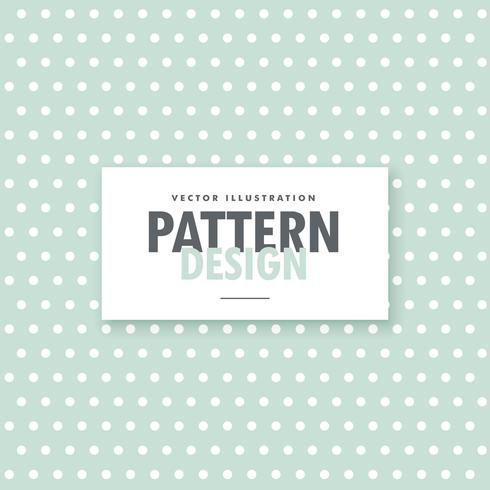 clean polka dots background in vintage colors