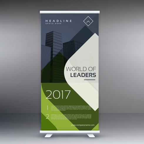 modern presentation roll up banner