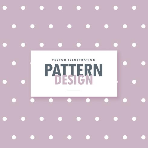 soft purple polka dots pattern background