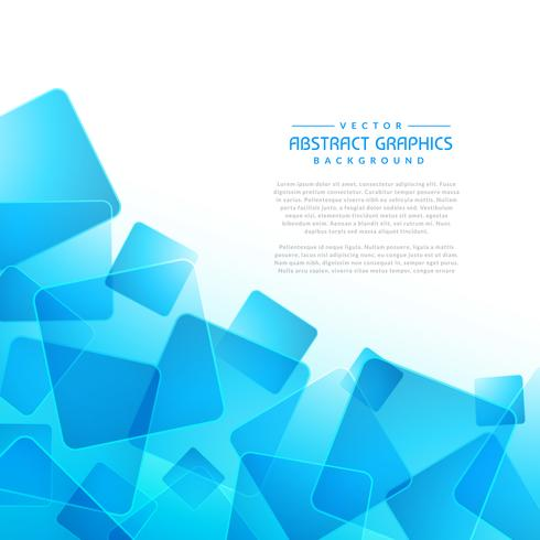 blue square shapes abstract background