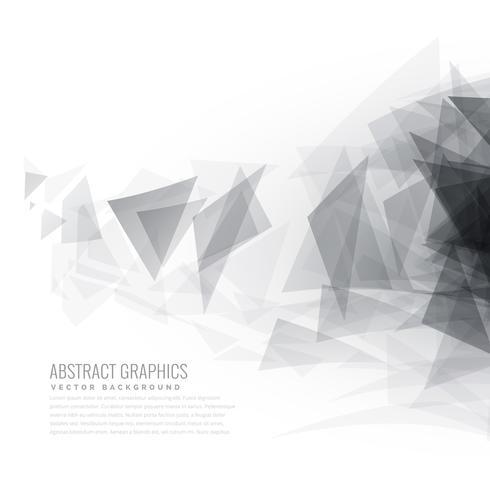 abstract gray triangle shapes burst