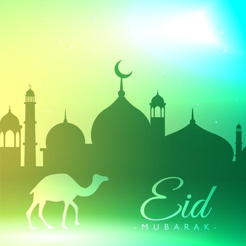 eid mubarak festival background greeting