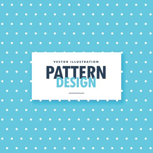 blue polka dots pattern background