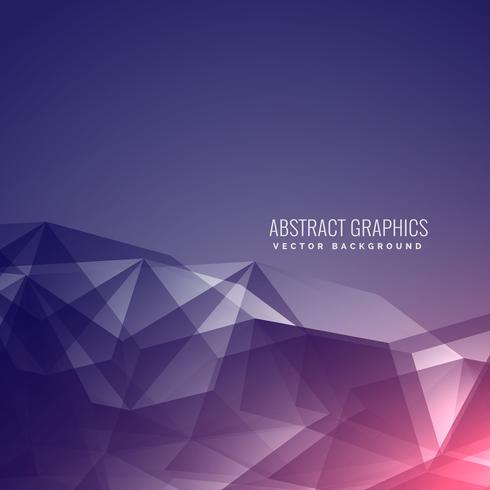 modern futuristic abstract poly background with beautiful light