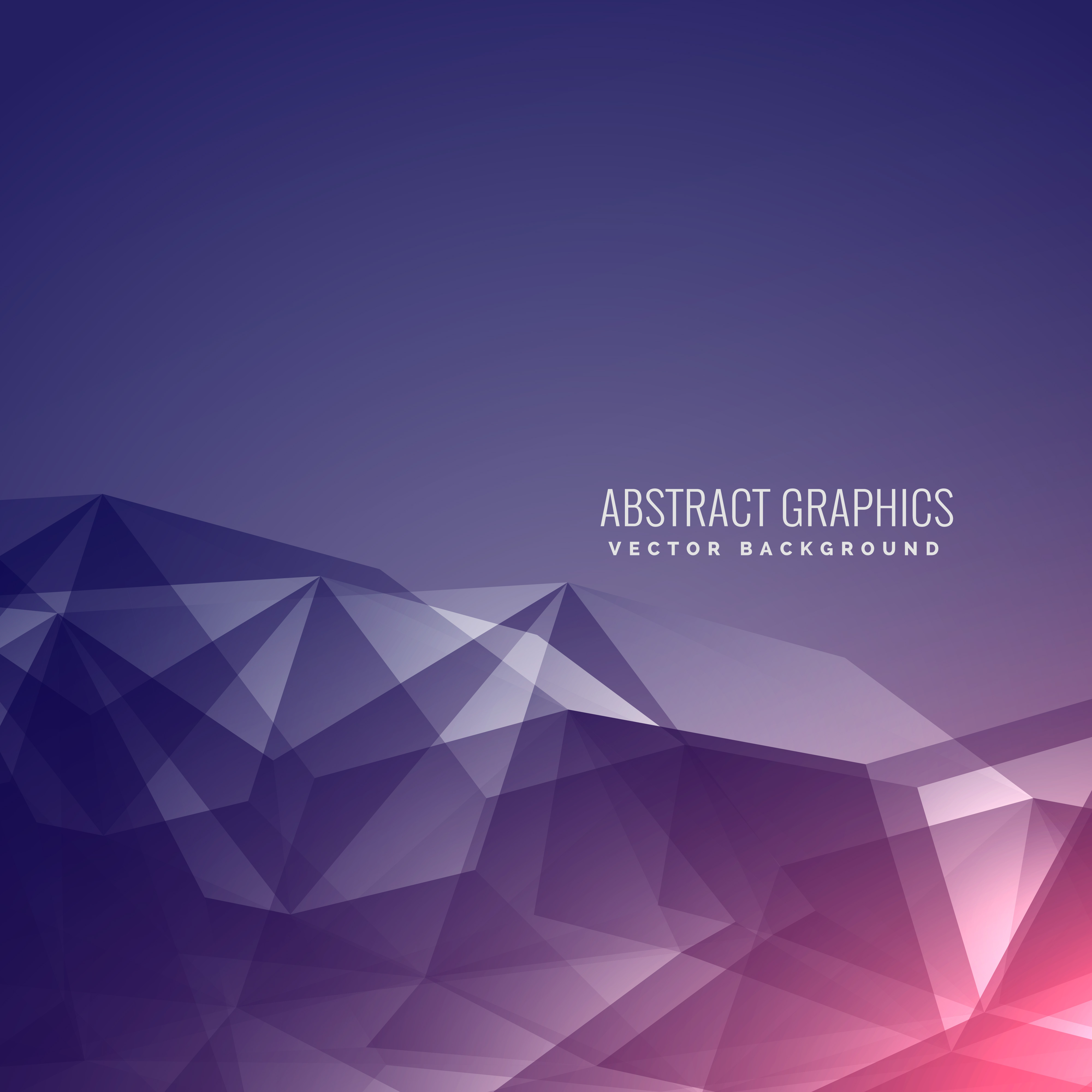 modern futuristic abstract poly background with beautiful