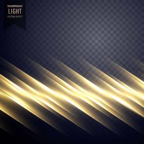 elegant golden light line effect background