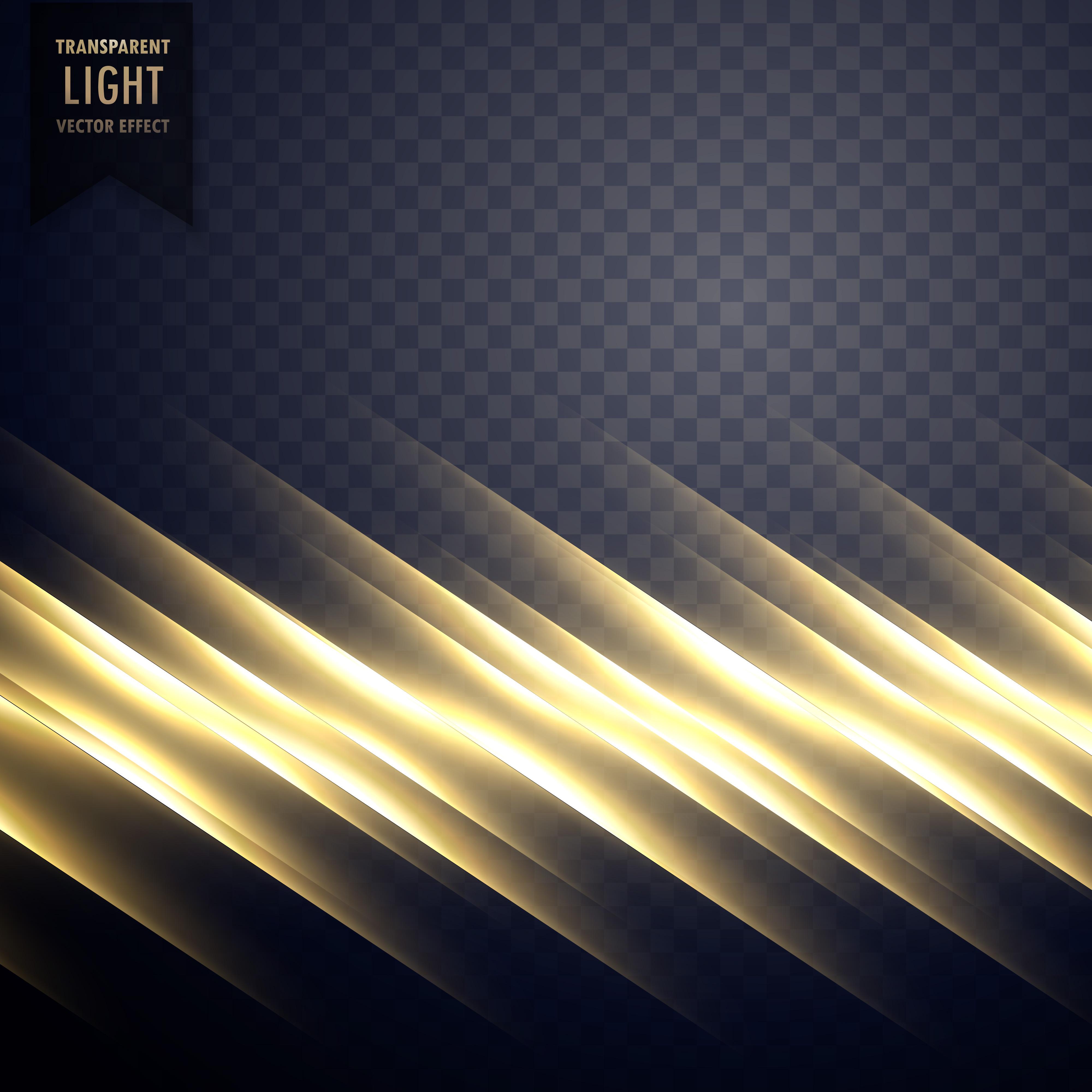 Elegant Golden Light Line Effect Background Download