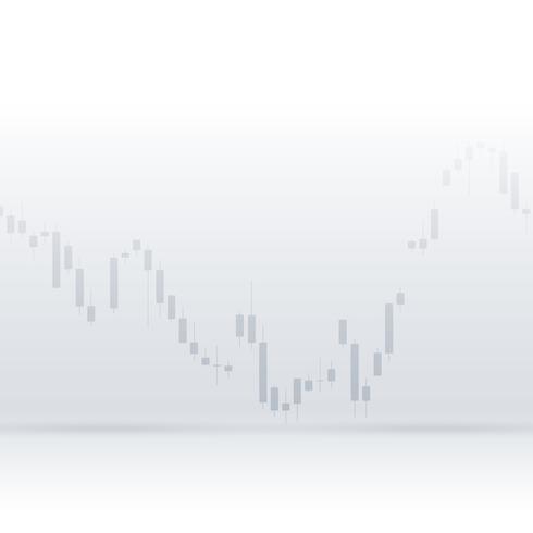 clean graph chart vector design