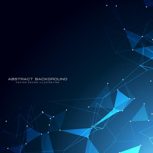 awesome technology particles background design