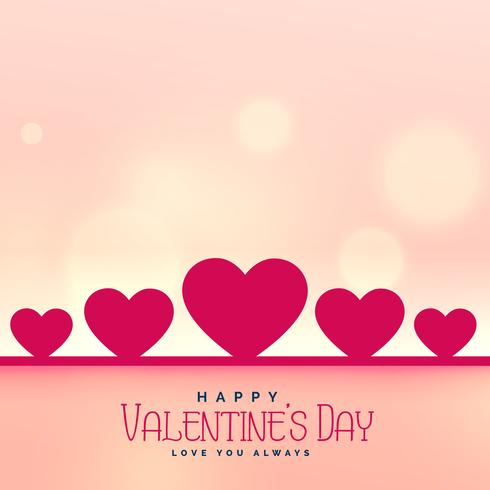 valentine's day background with text space