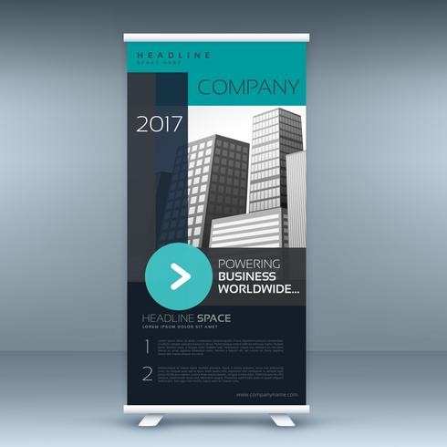 standee roll up banner design for your business presentation