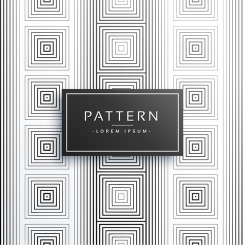 stylish lines square style pattern background