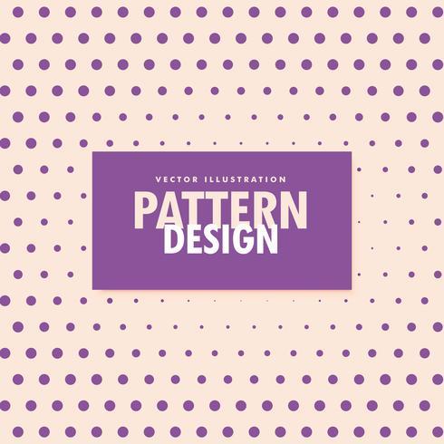 fundo de estilo de meio-tom de pontos roxos vector
