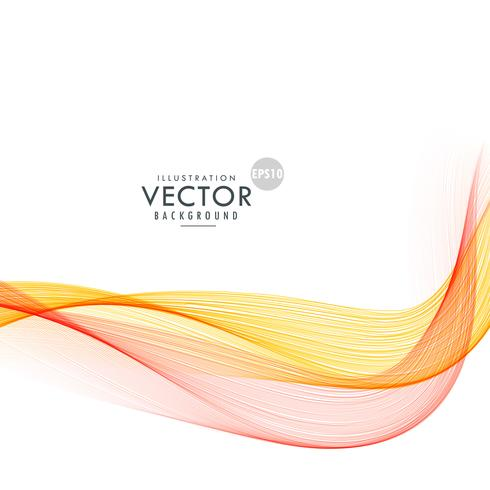 awesome colorful bright wave background design