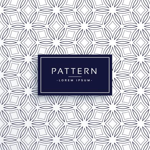 line flower style pattern background