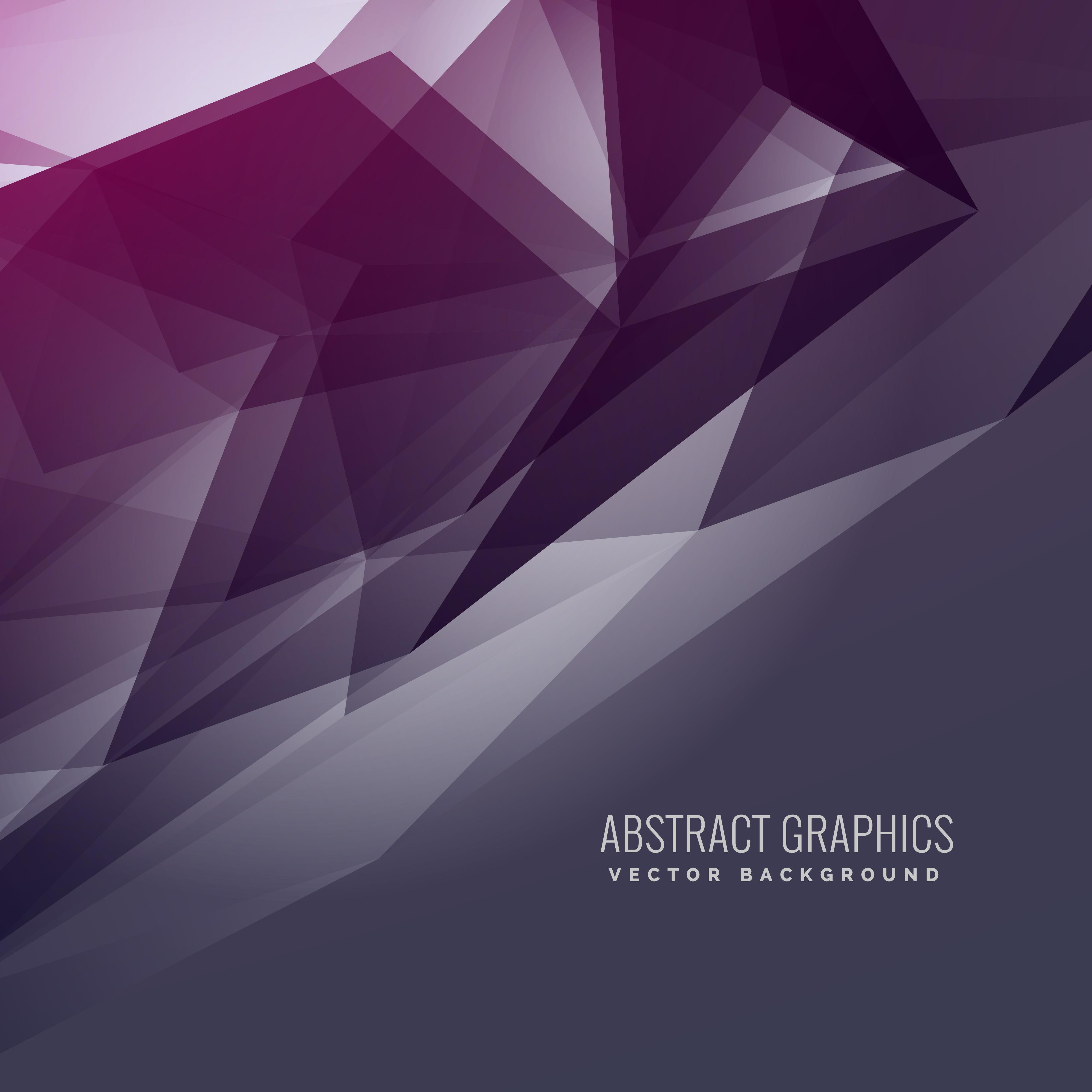 Abstract Futuristic Purple Background In Dark Style