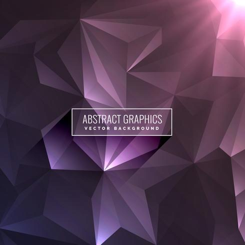 abstract dark purple background with triangle shapes
