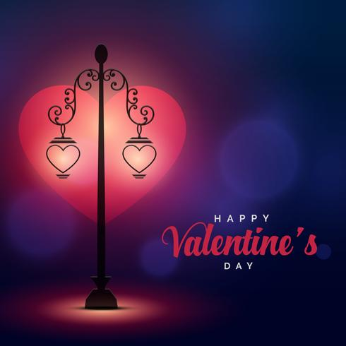 Romantic Love Scene Lights For Valentine S Day Download Free