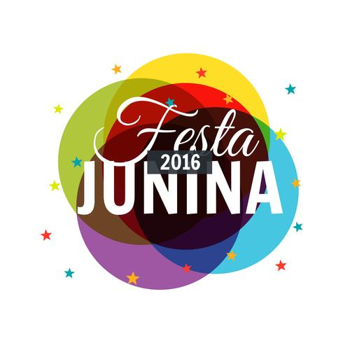 colorful 2016 festa junina background