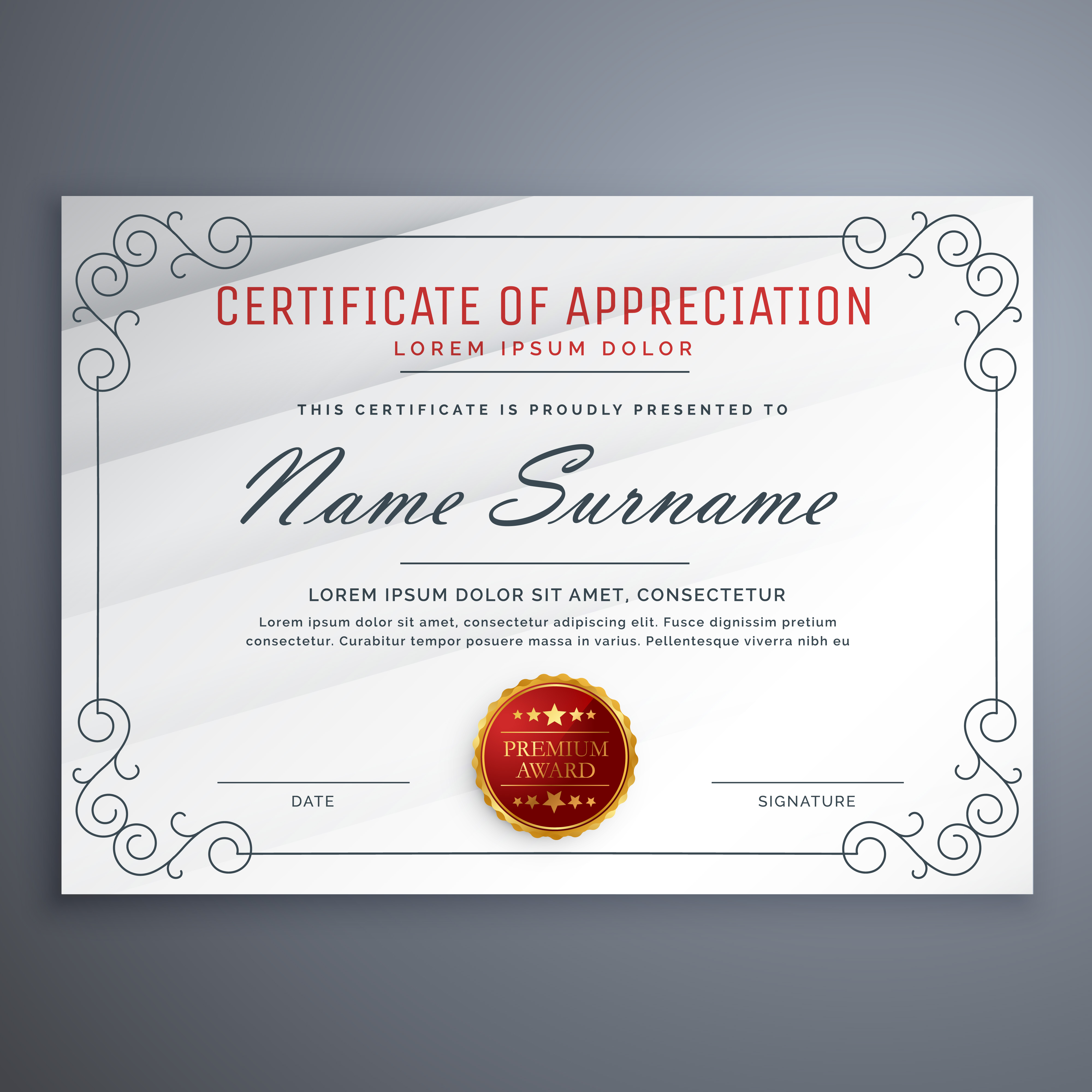 Certificate Background Free Vector Art - (37727 Free ...