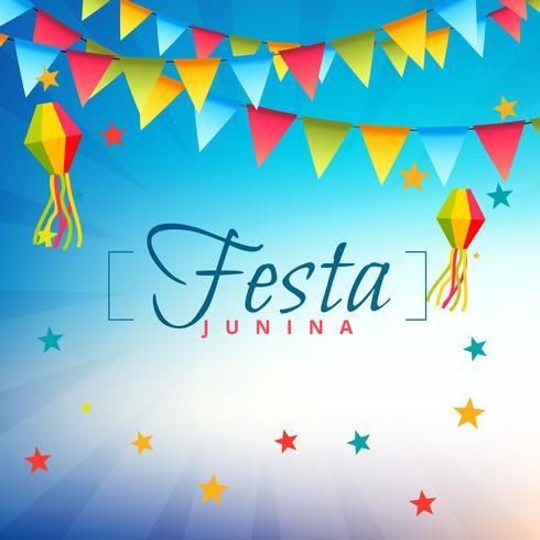 festa junina festival party illustration
