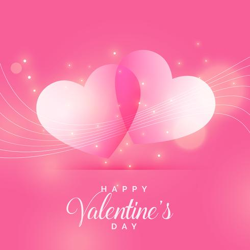 beautiful shiny love background for valentine's day