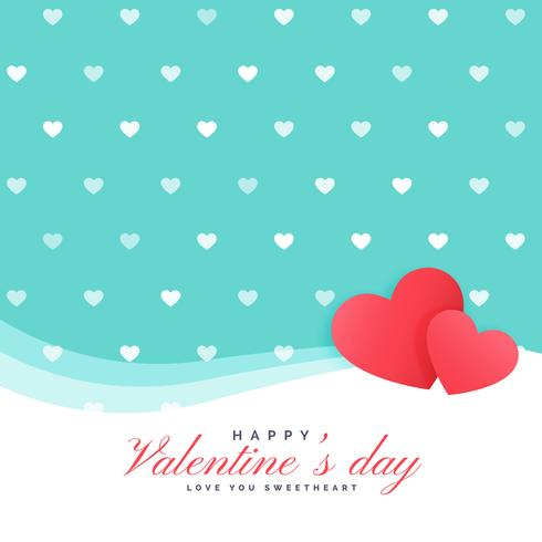 cute hearts background for valentine's day