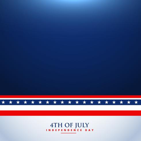 4th of july background illustration