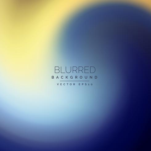 abstract blue and yellow blurred background