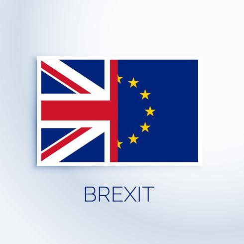 brexit concept flag