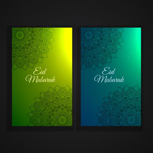 eid festival vertical flyers