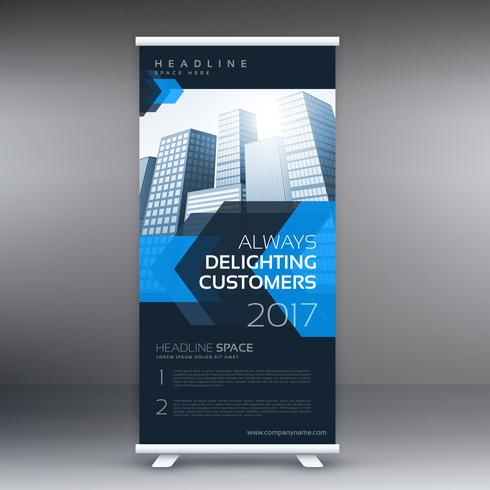 business presentation roll up banner