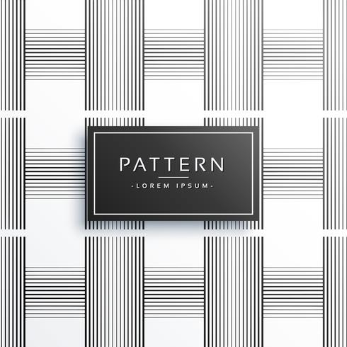 geometric black verticle and horizontal lines pattern design