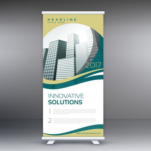 modern roll up presentation template