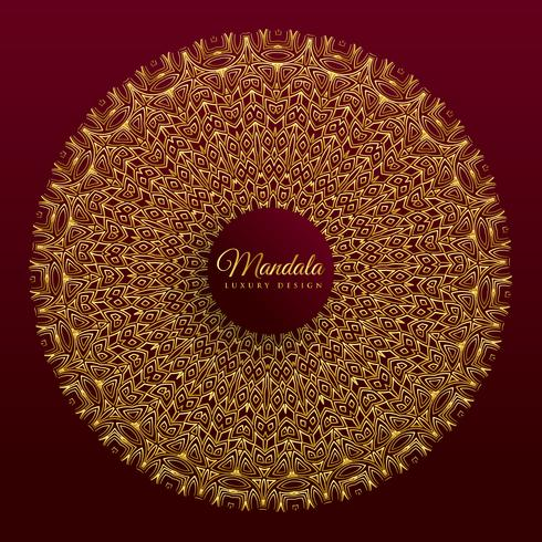 luxury mandala vector banner design