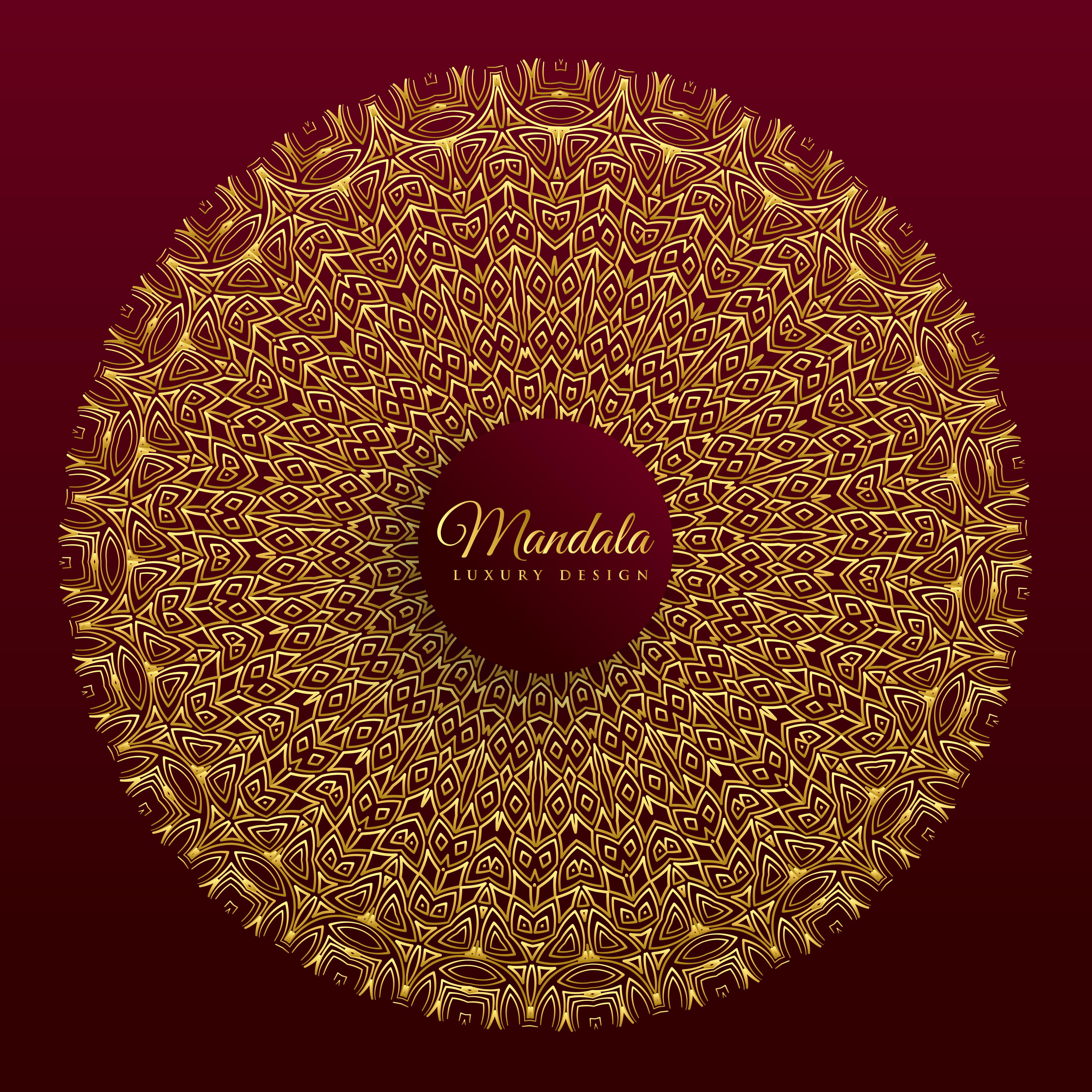 luxury mandala vector banner design - Download Free Vector ...